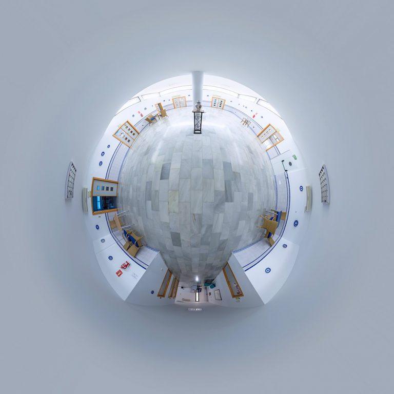 Visita virtual para Google Street View del Centro cultural 'El Cuartel' en San Juan de los Terreros (Almería)