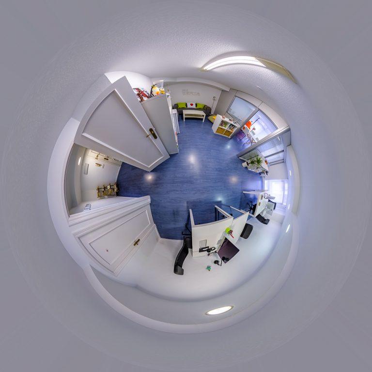 Visita virtual para Google Street View del Estudio creativo Mi Werta en Santander (Cantabria)