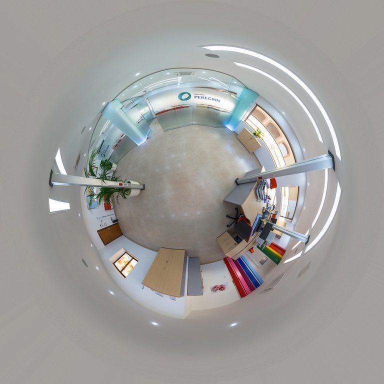 Visita virtual para Google Street View de las oficinas de Peregrín One Garlic en Pulpí (Almería)